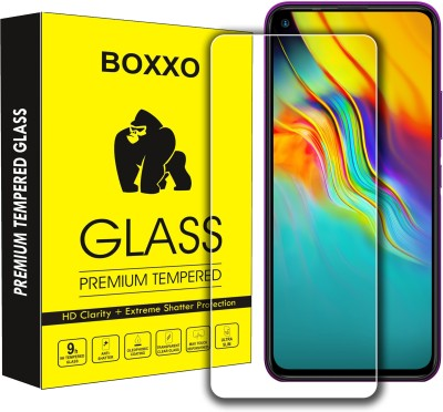 Boxxo Tempered Glass Guard for Infinix Hot 9 Pro(Pack of 1)