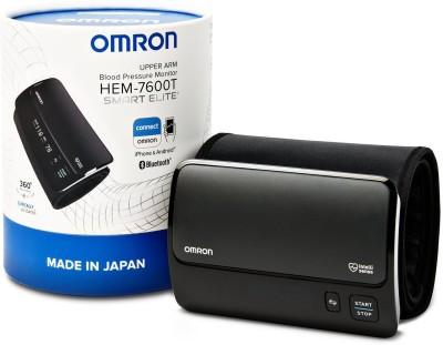 Omron Hem7600T Smart ELite Bp Monitor(Black)