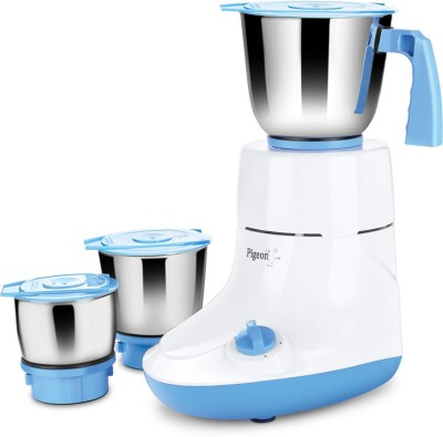 Pigeon Glory 550W Glory 550 W 550 Mixer Grinder(Multicolor, 3 Jars)