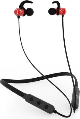Flipkart SmartBuy BassMoverz Bluetooth Headset(Black, Red, In the Ear)