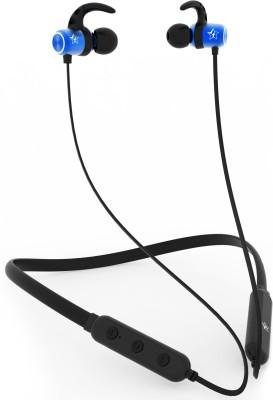 Flipkart SmartBuy BassMoverz Bluetooth Headset(Blue, Black, Wireless in the ear)