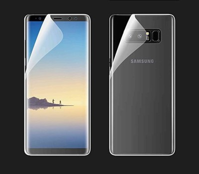 RUNEECH Front and Back Screen Guard for Samsung Galaxy Note 8(Pack of 2)