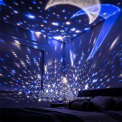 Mixen Romantic Sky Star Master Night Light Projector Night Lamp Night Lamp(14.5...
