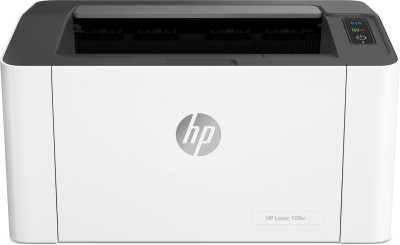 HP Laser 108 w Single Function WiFi Monochrome Laser Printer(White, Grey, Toner Cartridge)
