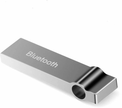 JMO27Deals v4.0 Car Bluetooth Device with Adapter Dongle(Silver)