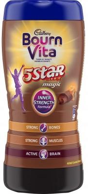 Cadbury Bournvita 5 Star Magic Health Nutrition Drink (500 g, Chocolate Flavored)