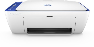 HP DeskJet Ink Advantage 2676 Multi function WiFi Color Printer with Voice Activated Printing Google Assistant and Alexa White, Ink Cartridge HP Multi