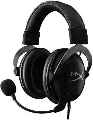 hyperx Wired Gaming Headset With Mic Wired Headset(Steel, On the Ear)