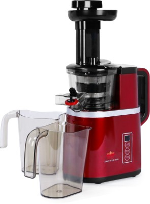 BMS Lifestyle slow juicer Masticating Juicer Extractor with Digital Control Panel, Easy to Clean BPA Free Cold Press Juicer for...