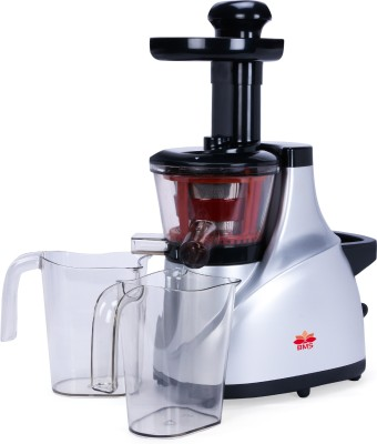 BMS Lifestyle slow juicer Slow Masticating Juicer Extractor Slow Cold Press Juicer Machine Quiet Motor Reverse Function Portable Handle Brush&Vegetable...