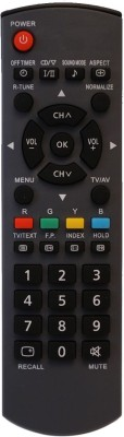 Upix URC401 LCD/LED TV Remote Compatible for Panasonic LCD/LED TV Remote Controller(Black)