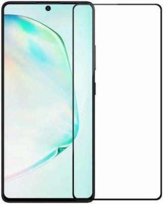 GlassTech Edge To Edge Tempered Glass for Samsung Galaxy A71(Pack of 1)