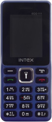 Intex ECO 111(Dark Blue, Black)