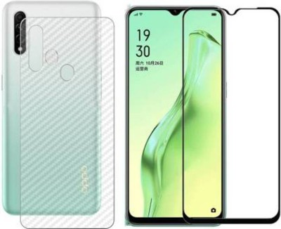 Desirtech Front and Back Tempered Glass for Oppo A31(Pack of 2)