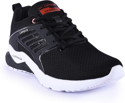 Campus CRYSTA Running Shoes For Men(Black)