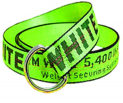 USL Men & Women Party Green Canvas Belt