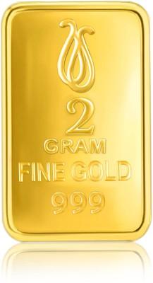 Senco Gold Gold Precious Bar 24  999  K 2 g Yellow Gold Bar Senco Gold Coins   Bars