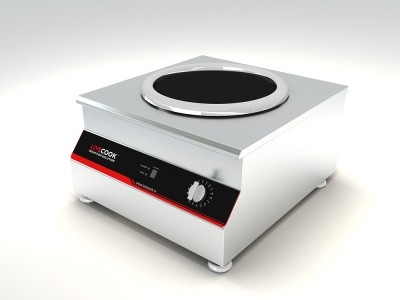 LIVECOOK Commercial Induction Cooktop(Silver, Jog Dial)
