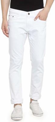 Ben Martin Slim Men White Jeans