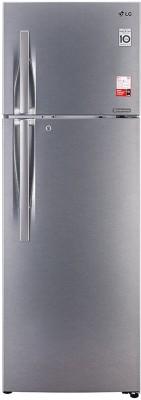 LG 335 L Frost Free Double Door 3 Star Convertible Refrigerator(Dazzle Steel, GL-T372JDS3)