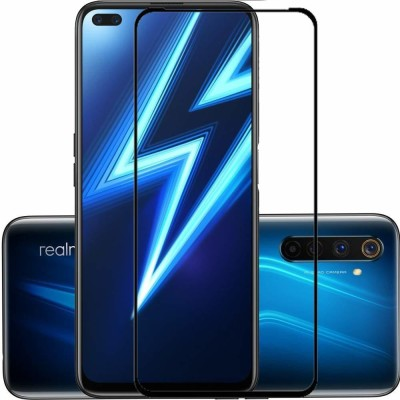 Express Buy Edge To Edge Tempered Glass for Realme 6 Pro(Pack of 1)