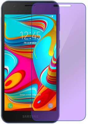 Mobilive Tempered Glass Guard for Samsung Galaxy A2 Core Anti Blue Glass(Pack of 1)