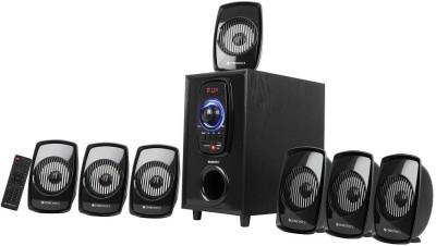 ZEBRONICS ZEB-BT701 RUCF 70 W Bluetooth Home Theatre(Black, 7.1 Channel)