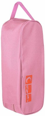 CHESHTA Travel Sports Shoes Carry Storage Bag Pink