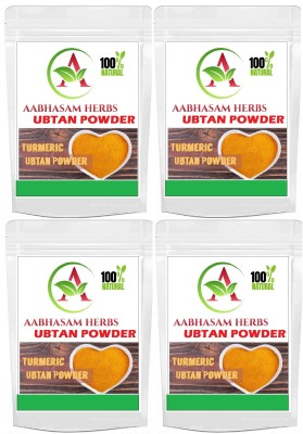 Abhasam herbs Organic Ubtan Powder for Skin Whitening and Glowing (400 gm)(400 g)