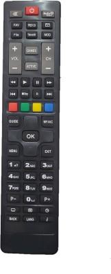 jpbrothers Remote Control DISHTV Remote Controller Black