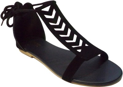 Looksfootwear Women Black Flats