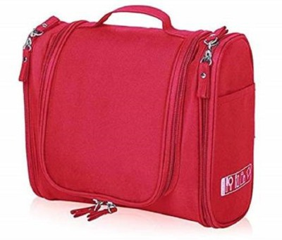 Jeval cosmetic bag Travel Toiletry Kit Red