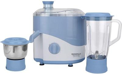 Maharaja Whiteline JX 131 ODACIO 500 500 Juicer Mixer Grinder White, Blue, 2 Jars