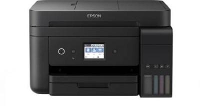 Epson L6190 Multi-function Wireless Color Printer (Black, Ink Bottle) Multi-function Wireless Color Printer(Black)