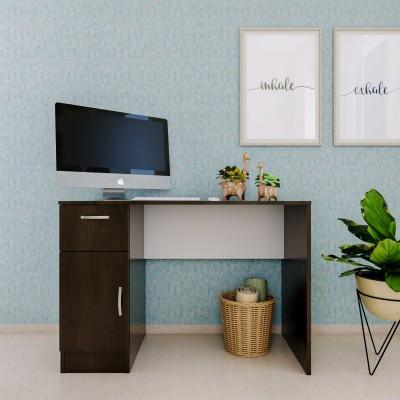 Forzza Tamara Engineered Wood Study Table(Free Standing, Finish Color - Wenge)