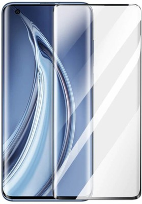Signature EL Edge To Edge Tempered Glass for MI 10 Made like Signature, unique and perfect(Pack of 1)