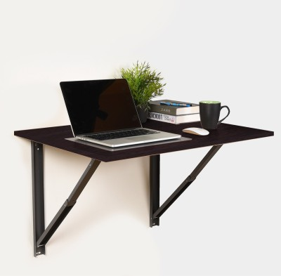 Forzza Oliver Engineered Wood Study Table(Wall Mounted, Finish Color - Wenge)