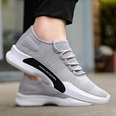 Noztile Running Shoes For Men(Grey)