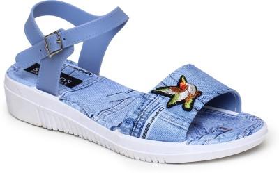 SAPATOS Women Blue Flats