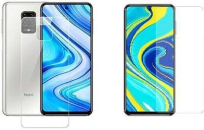 FIRST IMPRESSION Front and Back Tempered Glass for Redmi Note 9 Pro Max(Pack of 2)