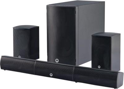 Motorola AmphisoundX 80 W Bluetooth Home Theatre  (Black, 5.1 Channel)