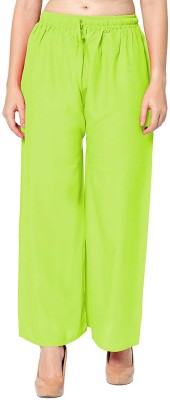 SriSaras Relaxed Women Green Trousers