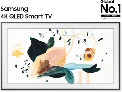 Samsung The Frame 138cm (55 inch) Ultra HD (4K) QLED Smart TV(QA55LS03TAKXXL)