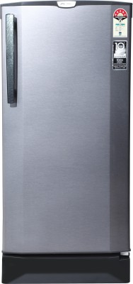 Godrej 190 L Direct Cool Single Door 5 Star Refrigerator with Intelligent Inverter Compressor(Sleek Steel, RD 1905 PTI 53 SI ST)