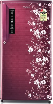 MarQ by Flipkart 180 L Direct Cool Single Door 2 Star (2020) Refrigerator(Wine Coral, MDCR180PG)