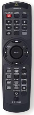 Hitachi HL02003 REMOTE CONTROL OF PROJECTOR CP-X1000 CP-X1200 Hitachi Remote Controller(Black)