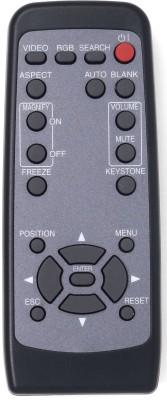 Hitachi HL01894 REMOTE OF CP-S210 LCD projector CP-S210 Hitachi Remote Controller(Black)