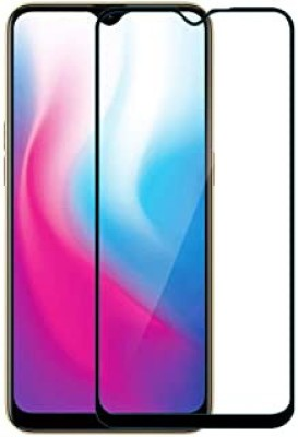 king guard Edge To Edge Tempered Glass for Oppo A1k(Pack of 1)