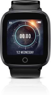 Syska SW100 Smartwatch(Black Strap, Free Size)