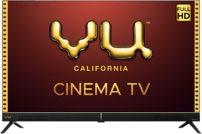 Image of VU Cinema 50 inch Ultra HD 4K Smart TV which is one of the best tv under 50000
